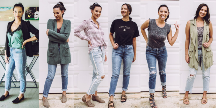 How to Style ::: Boyfriend Jeans